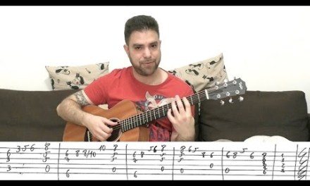 Fingerstyle Tutorial: Beauty and the Beast – Guitar Lesson w/ TAB