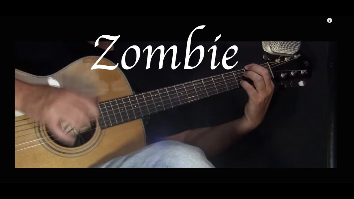 The Cranberries Zombie Fingerstyle Guitar The Glog