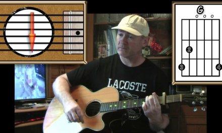 Last Christmas – Wham – Acoustic Guitar Lesson (easy)