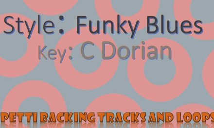 C Dorian – Funky Blues Guitar Backing Track