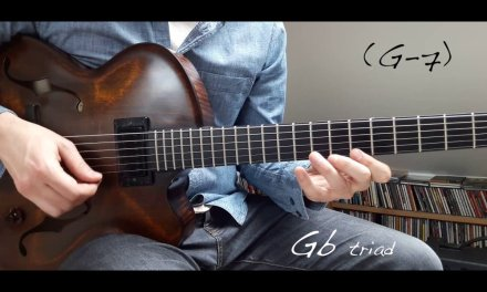 Jazz Guitar Mini Lesson #13 – Dim substitution over a -7 chord