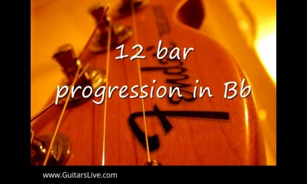 12 Bar Blues Backing Track in A# – 12 Bar Blues Guitar Backing Track in A#