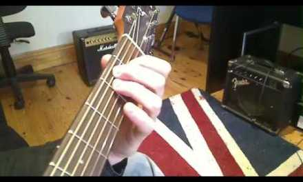 Play TEN guitar songs with two EASY chords Beginners first guitar lesson part 1