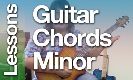Guitar and  Baritone Ukulele Chords: The Minor Chords ( Easy Lesson )