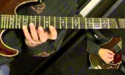 Dramatic Arpeggio Solo Phrase w/ Major, Minor & Diminished Arpeggios Guitar Lesson Part 2