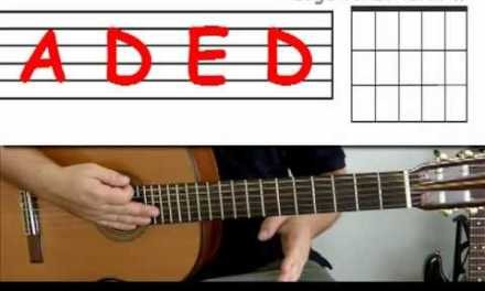 Guitar lesson 7 : Beginner — How to play 'Wild thing' with A, E and D chords