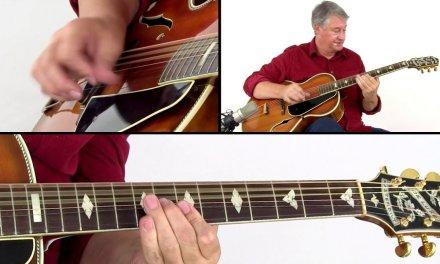 Fingerstyle Blues & Boogie Guitar Lesson – Running Shoes Blues Breakdown – Ton Van Bergeijk