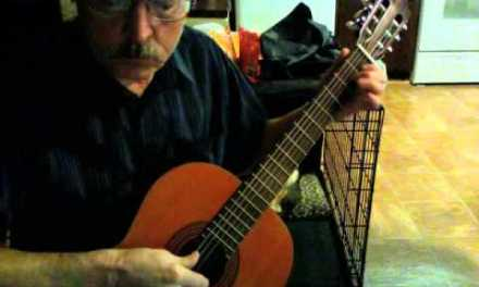 D01 Classical Guitar Lesson 5, pg 28, #2, Simple Alternation