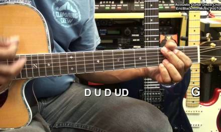 I Will Survive Disco Style Acoustic Guitar Chords & Strumming Tutorial EricBlackmonMusicHD YouTube