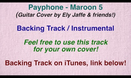 """Payphone"" – Maroon 5 – Backing Track / Instrumental (Cover by Ely Jaffe) on iTunes"