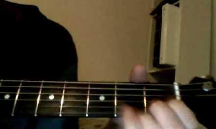 Rascal Flatts-Bless The Broken Road acoustic guitar lesson