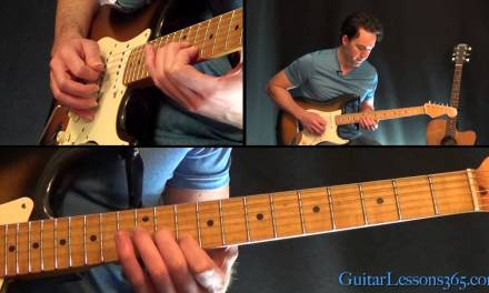 Take It Easy Guitar Lesson – Eagles – Solo
