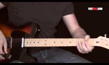 Guitar Lesson: Improvisation based around G Major Pentatonic Scale