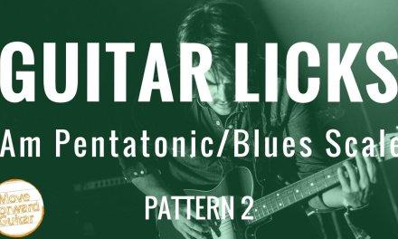 Guitar Licks | Minor Pentatonic | Blues Scale 1.2