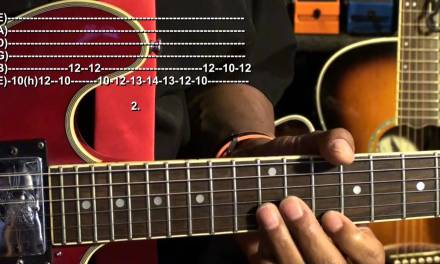 B.B. King Style Guitar Solo Lesson The Thrill Is Gone EricBlackmonMusic HD