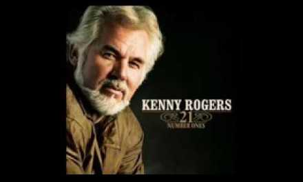 Kenny Rogers-lady-guitar backing track with vocals