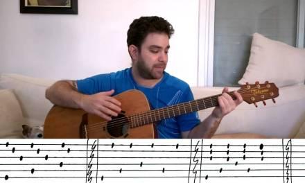 5 Beginner Fingerstyle Exercises – Guitar Lesson Tutorial w/ TAB