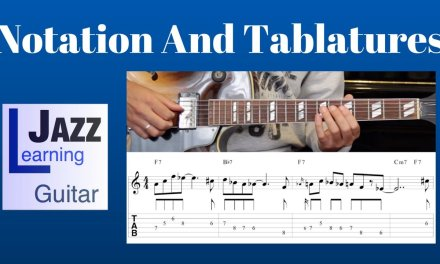 Jazz Guitar Lesson #10 – Progression #1 (Blues in F) – Improvisation #10