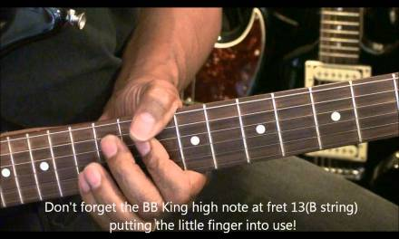 How To Play An Electric Guitar Solo Without Even THINKING About Scales #7 EricBlackmonMusicHD