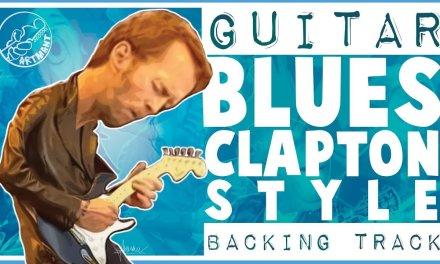 Blues Backing Track Eric Clapton Style