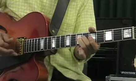 Takashi Nakamura  Jazz Guitar lesson Part 4  So What (D dorian & pentatonic )