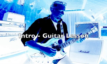 Chuck Berry Johnny B. Goode – Intro Guitar lesson – Walter Apa