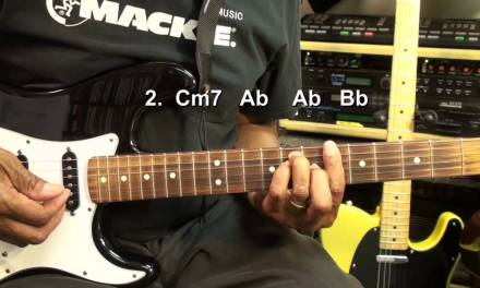 Nico & Vinz AM I WRONG Electric And Acoustic Guitar Lesson EricBlackmonMusicHD