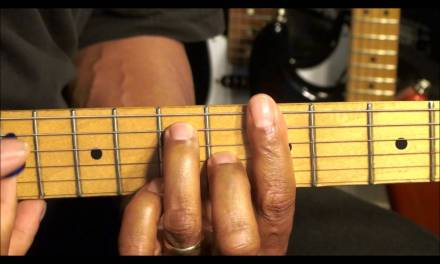 Guitar Chord Form Tutorial #201 How To Play Chic Nile Rodgers Style R&B Shapes HD