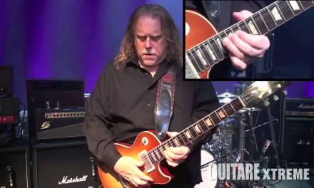 Warren Haynes (Gov't Mule) – Blues guitar lesson –  Guitare Xtreme Magazine #69