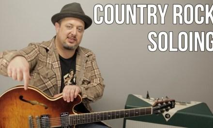 Country Blues Guitar Lesson – Blues Licks Using Major Pentatonic
