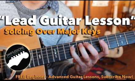 Major Lead Guitar Tricks – Soloing over Major Keys Guitar Lesson