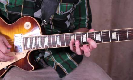 Guitar Scales Lesson – The 5 Positions of the Major Pentatonic Scale