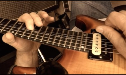 Stevie Ray Vaughan Inspired Lick – Blues Guitar Lesson