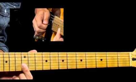 50 Texas Blues Licks – #19 Double Stop Lenny – Guitar Lesson – Corey Congilio