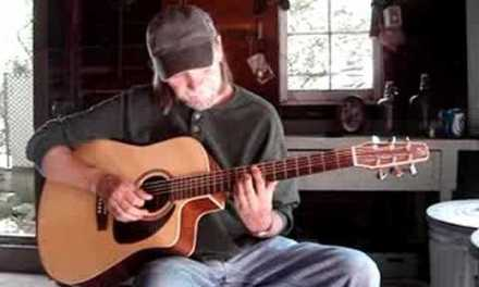 """Acoustic Guitar Lessons  """"A Minor Blues"""" Tab Included"""