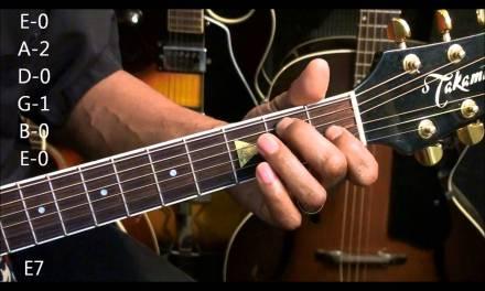 EASY 12 Bar Blues Chord TABS #230 Guitar Chord Form Tutorial EricBlackmonmusic