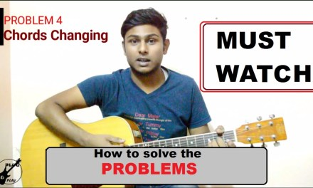 5 most important problems-How to solve it-Beginner Acoustic Guitar Lesson-Tutorial 8