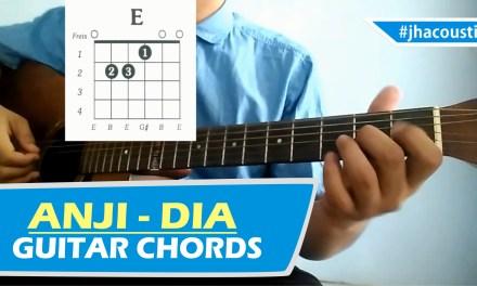 ANJI DIA – CHORDS / Guitar Tutorial