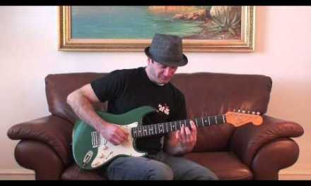 Stevie Ray Vaughan Blues Guitar Lick – Electric Guitar Lesson