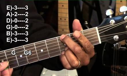 Cool Chord Progression Ending  Lesson Tutorial G6 EricBlackmonMusicHD