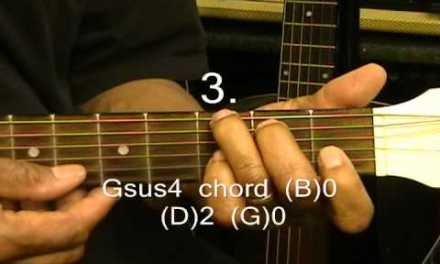 How He Loves DAVID CROWDER BAND Guitar Lesson NazarethCityLimits