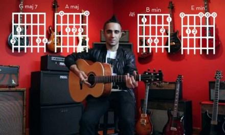 """""""Adorn"""" – Miguel – Guitar Tutorial/Chords – DRUTORIAL #1"""