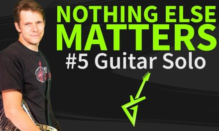 How To Play Nothing Else Matters Guitar Solo – Guitar Lesson & TAB