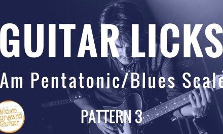 Guitar Licks   Minor Pentatonic   Blues Scale 1.3