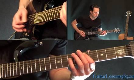 Back In Black Guitar Lesson Pt.1 – AC/DC – All Riffs
