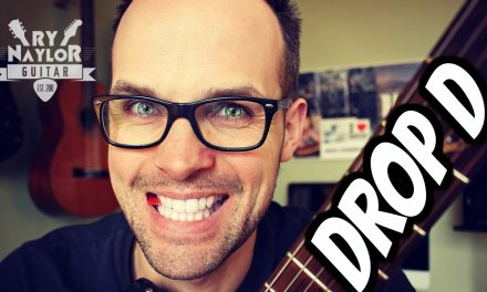 Drop D – Tuning, Chords and Riffs Guitar Lesson