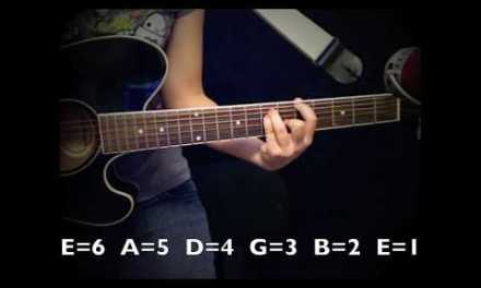"""Catch Me"" – Demi Lovato Guitar Tutorial/Chords (No Capo)"