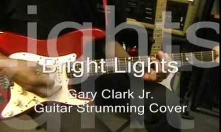 Gary Clark Jr. BRIGHT LIGHTS Electric Blues Guitar Cover EricBlackmonMusic