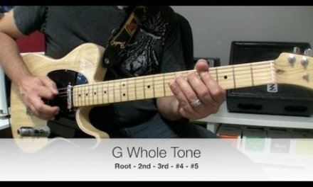 Whole Tone Scale for Blues Players
