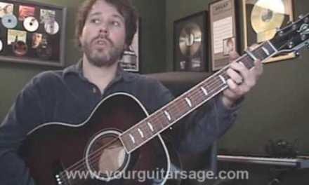 Guitar Lessons – A Woman's Love by Alan Jackson – cover chords Beginners Acoustic songs